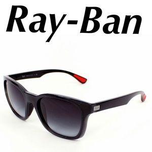 Ray-Ban Sunglasses Wayfarer Black Red Men's